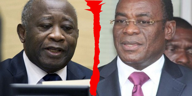 Laurent Gbagbo contre Affi N'guessan